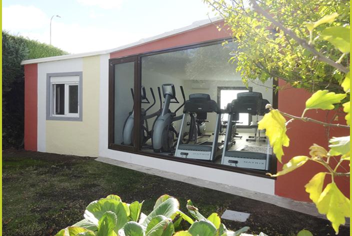 Fachada Trasera Gym