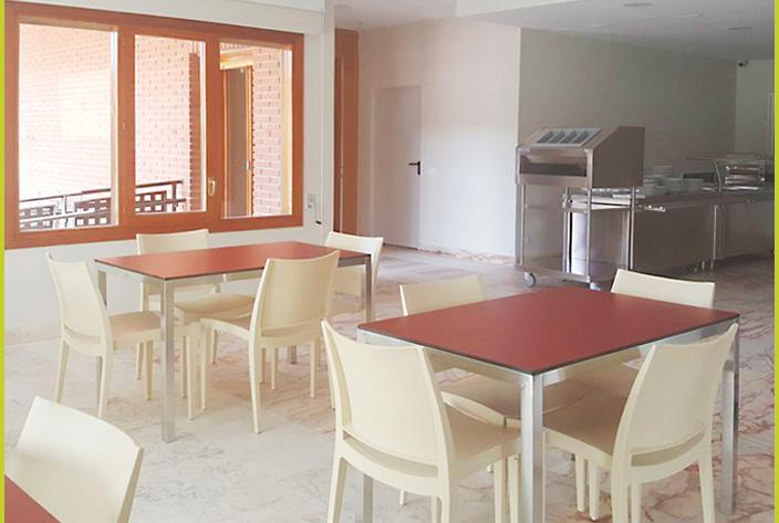 Comedor Interior Residencia Montepríncipe