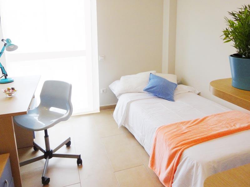 Blog Residencia Monteprincipe - Instalaciones dormitorios