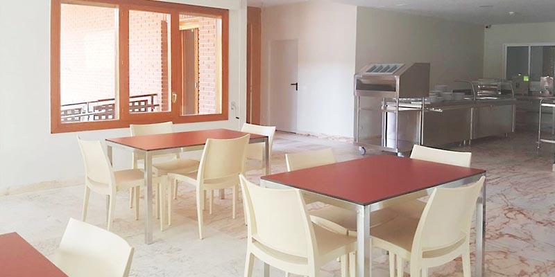 Comedor de la Residencia Montepríncipe