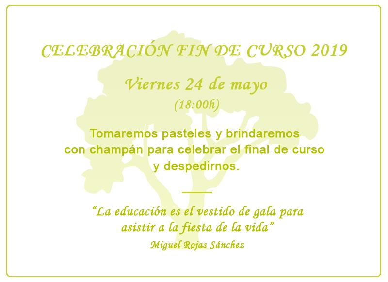 Celebracion Fin de Curso 2019