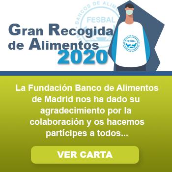 Agradecimiento a la Residencia Montepríncipe desde la Fundación Banco de Alimentos