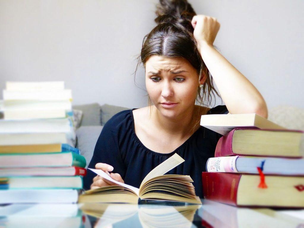 afrontar exámenes