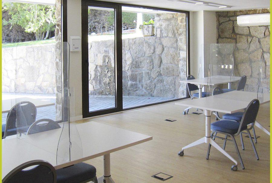 Biblioteca y Sala de Estudio habilitada contra Covid